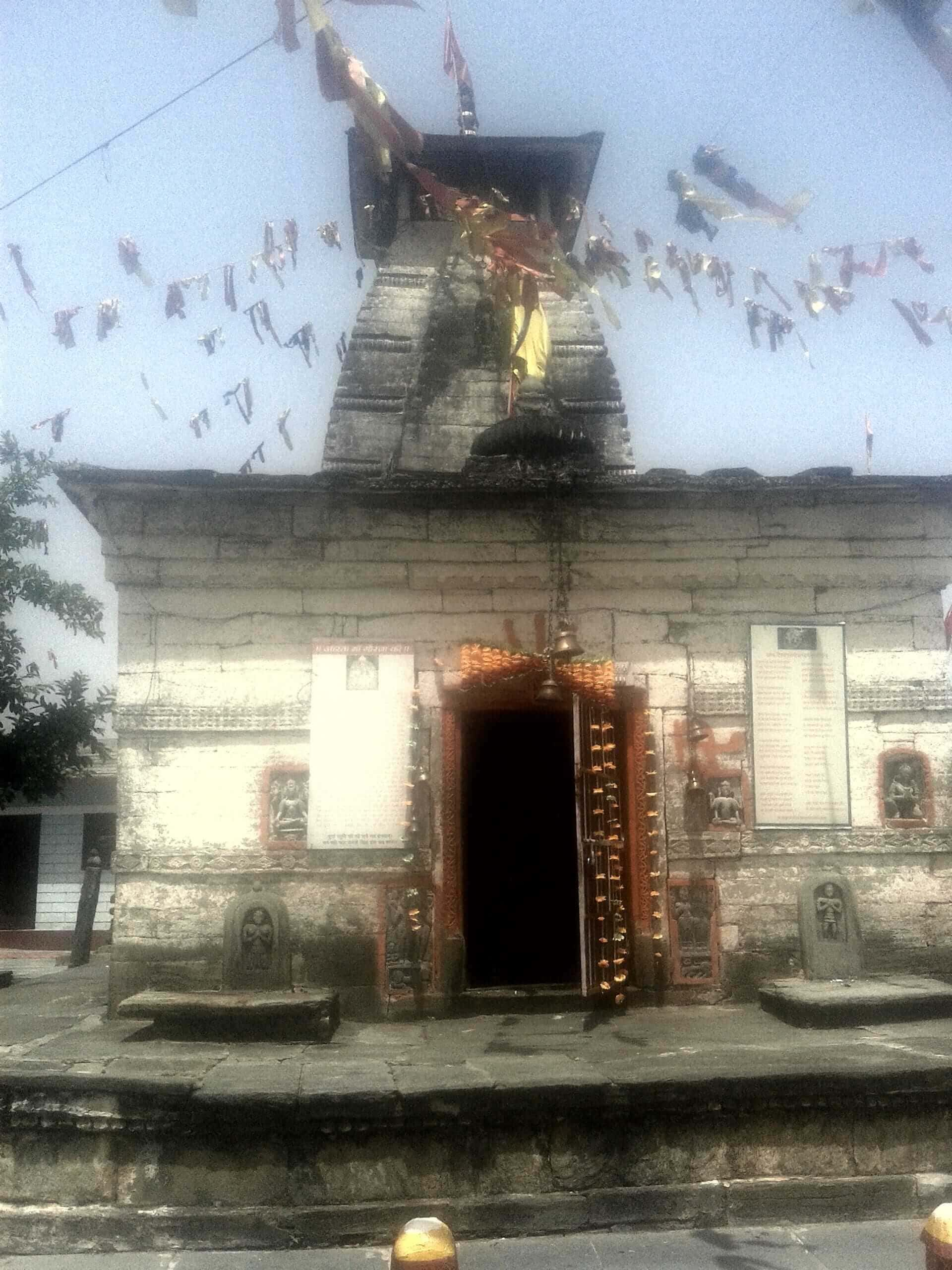 The Gaura Devi Temple in Delalgarh