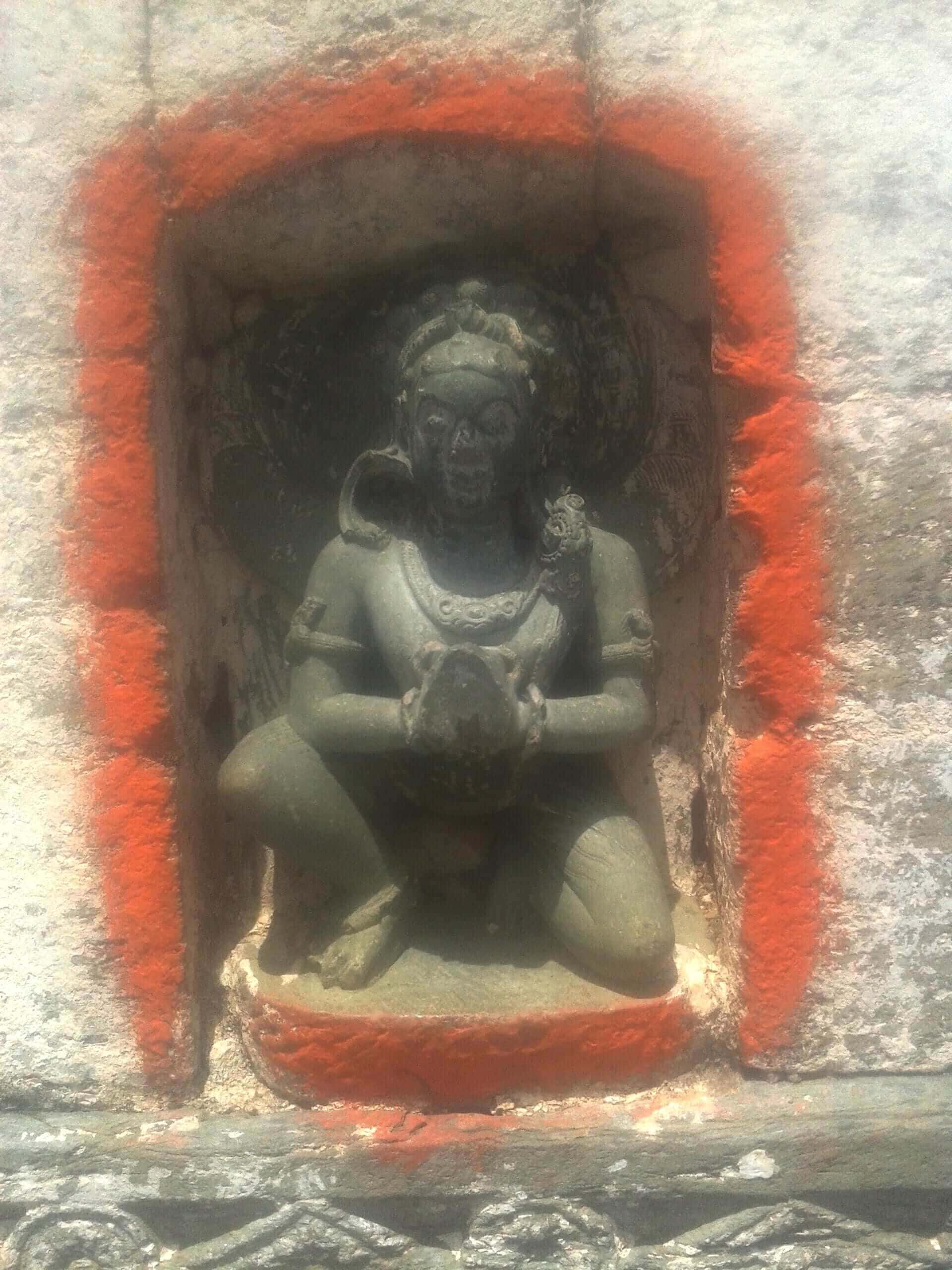 Sculpture in Devalgarh Temple
